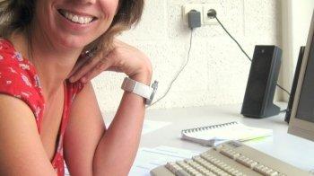 Biologiejuf Ilse Gabriëls is Leraar van het Jaar