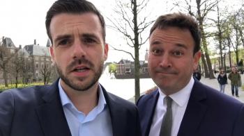 Xander vlogt over politiek voor de NOS