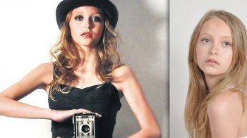 Hieke (13) kreeg een topcontract als model