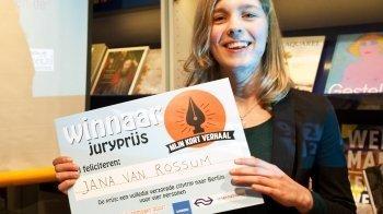 Jana van Rossum (16) wint Mijn Kort Verhaal