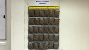 Geen mobieltjes in het klaslokaal