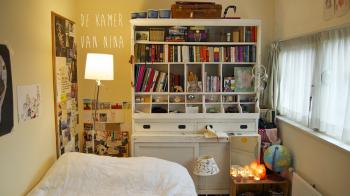 In de kamer van Nina