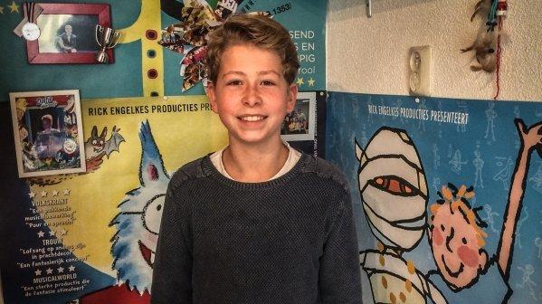 Musicalster Ivo (14) staat voor een derde maal op het grote podium