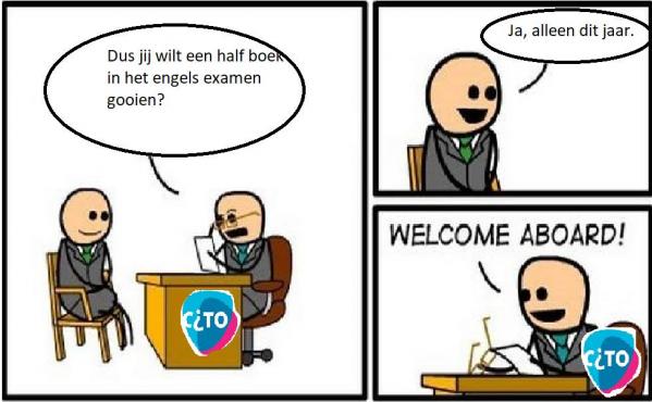 De beste memes over het vwo-examen Engels
