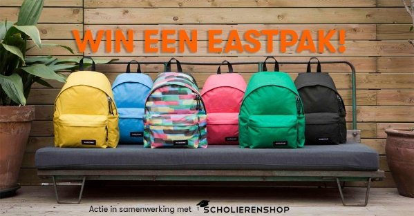 Win een eastpak!
