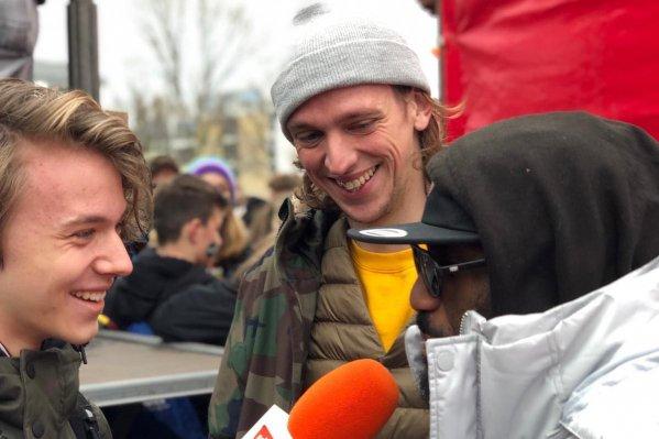 Tweede klimaatmars trekt 5.000 scholieren naar Amsterdam