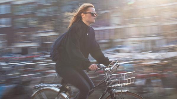 Pas op, overstekende fietsers!