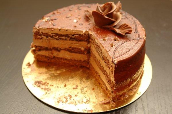 Cakebaksel van een anorexiajongen