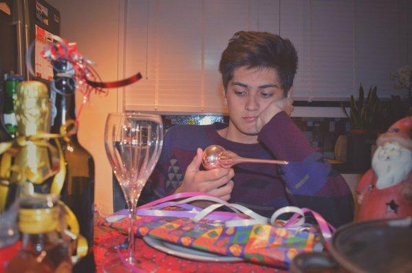 Zeven tafeltypes tijdens het kerstdiner