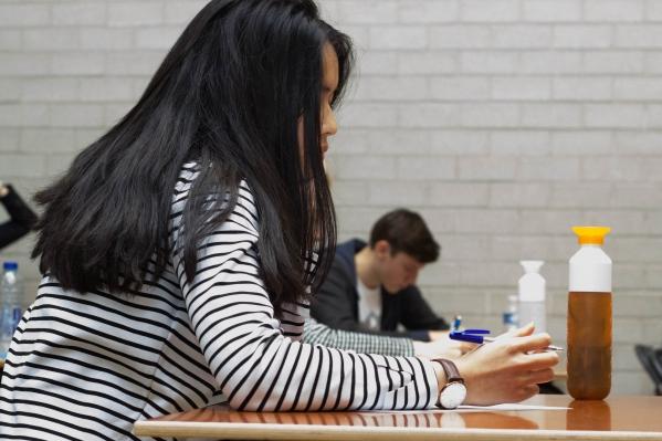 Nassira (17) neemt tijdens examens deel aan de ramadan