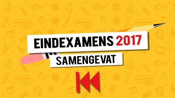 Eindexamens 2017 in acht hoogte- en dieptepunten