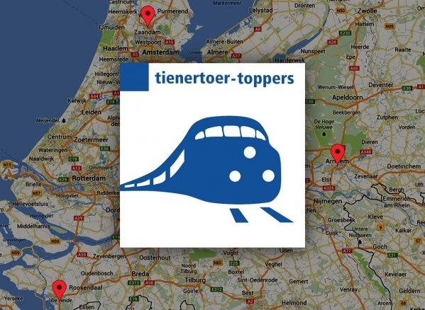Drie Tienertoer-toppers
