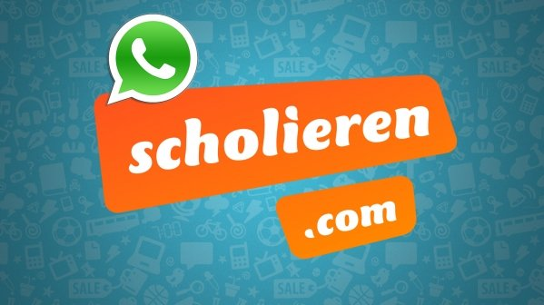 Whatsappen met Scholieren.com