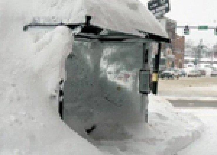 Bevroren bushalte